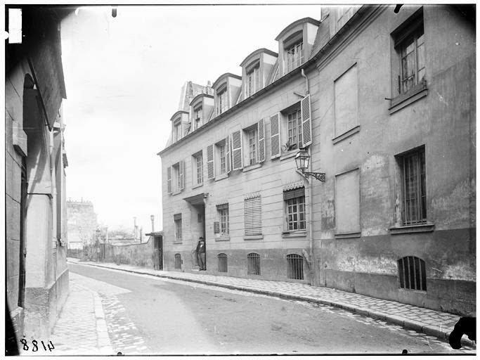 Pavillon Balzac Rue Berton 24 Merimée